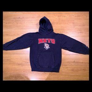 New York Nets Pullover Hoodie Youth Medium 10/12